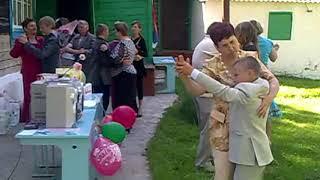 Последний звонок в сельской школе. Россия