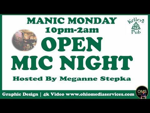 Open Mic Cleveland Musicians Live Music Cleveland Ohio DON Kellys Pub Lakewood Open Mic Night 2017 ⭐