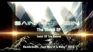 "Saint Of Sin Remix of REMBRANDTS ""Just The Way It Is Baby"""
