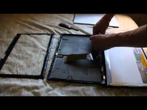 Laptop Screen Replacement / How To Replace Laptop Screen [Lenovo Thinkpad T500]