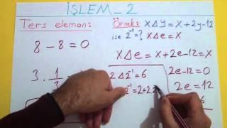 İşlem 2 Şenol Hoca Matematik