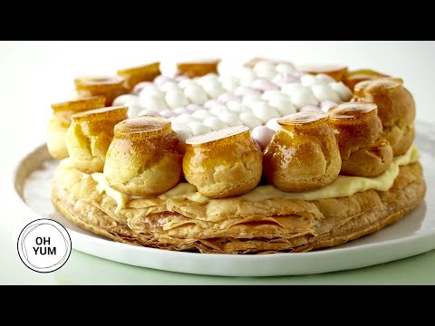 Classic French Torte Gateau St. Honoré - Oh Yum with Anna Olson