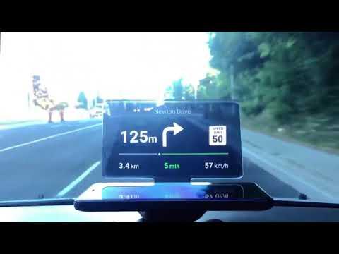 HUD мобильный держатель и навигационный дисплей