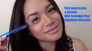 MAC Extended Play Gigablack Lash Mascara Review