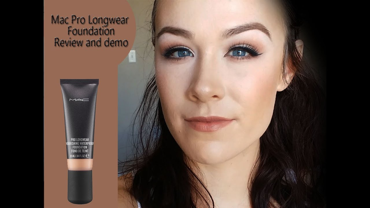 review demo mac pro longwear nourishing waterproof foundation youtube. Black Bedroom Furniture Sets. Home Design Ideas