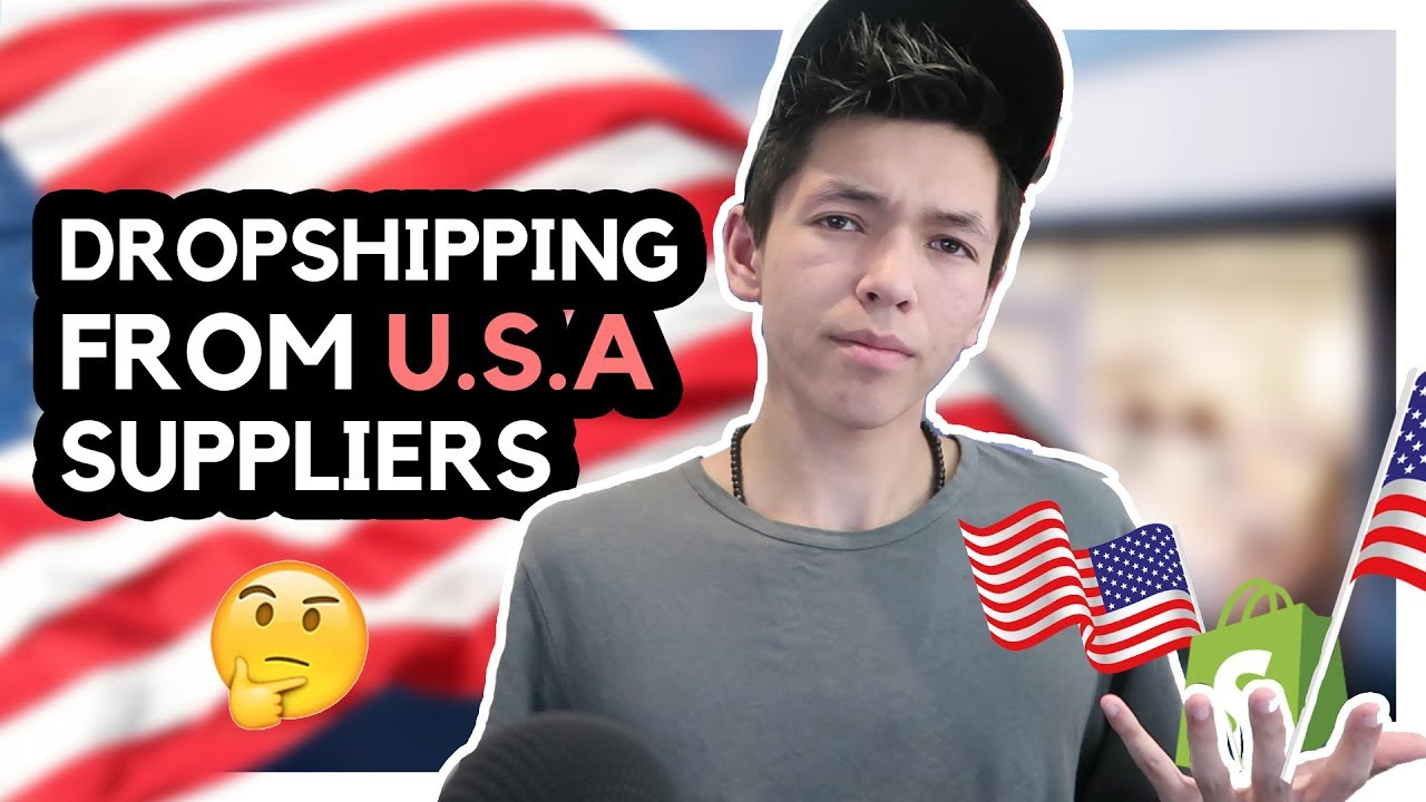 USA Suppliers - How To DropShip From The US (shopify drop shipping)
