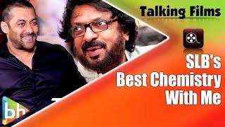 """""""Sanjay Leela Bhansali Shares The Best Chemistry With Me"""": Salman Khan"""