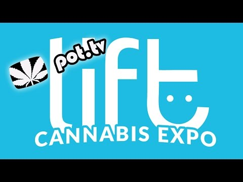 LIVE TODAY: The Lift Cannabis Expo in Toronto Day 1 - Part 1