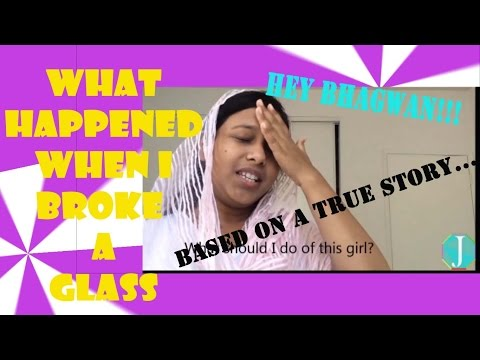 Indian Mom Gets Angry - The Time I Broke A Glass | By Official Jhalli #SpreadLaughter