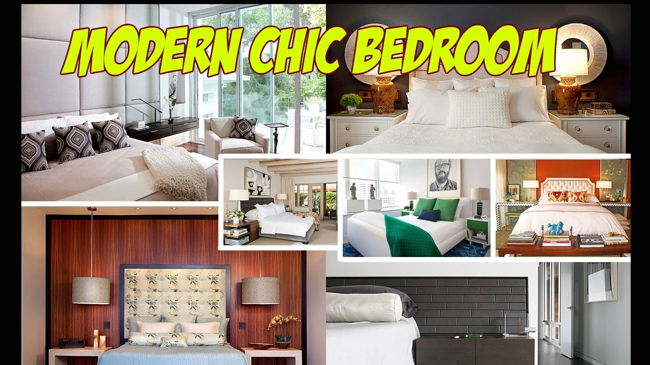 Modern Chic Bedroom Decorating Ideas - Modern Chic Bedroom - YouTube