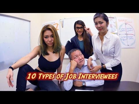 10 Types of Job Interviewees (Ft. Singapore Massage Uncle)