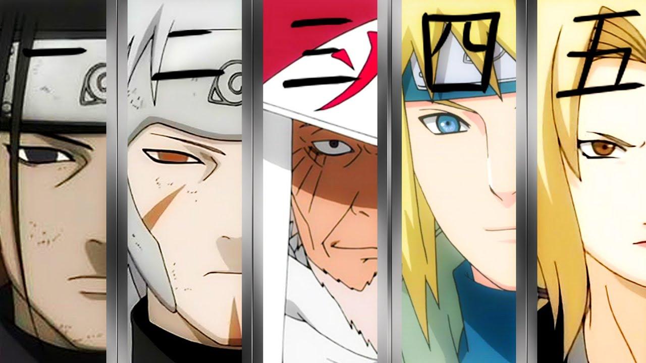 Wallpaper 3d Naruto Naruto All Hokages Story Youtube