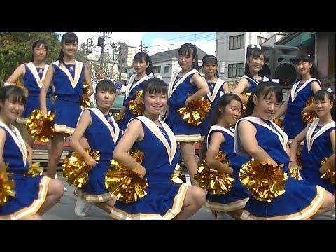 松山商業高校バトン部@Chushikoku Cheerleader 2017 Autumn