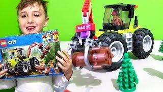 👇 Budujemy Leśny traktor z serii LEGO City 60181 (Recenzja)