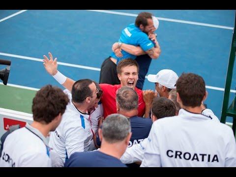 Borna Coric clinches Croatia's comeback