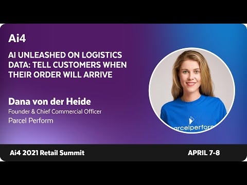 AI unleashed on Logistics Data: Tell customers when their order will arrive