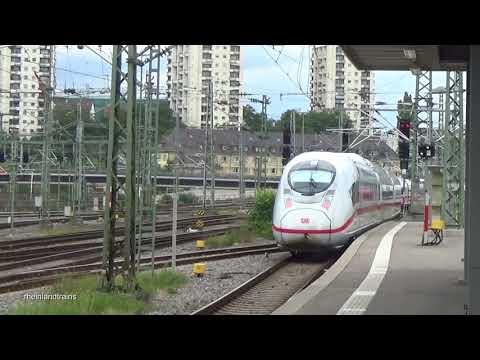 Züge in Stuttgart Hbf (31.07.2017) - ICE 1, ICE 3, IC, EC, BR 101, 111, 112, 114, 143, 146, 147, 218