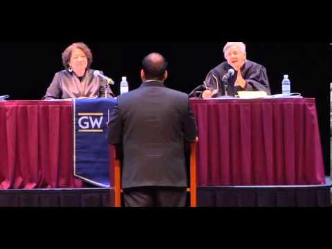 2014 GW Law Van Vleck Moot Court w/ Justice Sotomayor; 3L Kyle Singhal wins