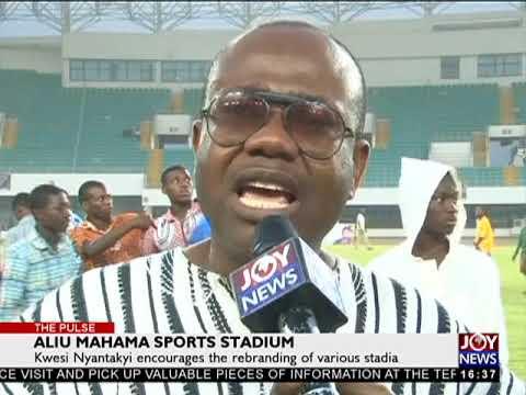 Aliu Mahama Sports Stadium - The Pulse Sports on JoyNews (11-12-17)