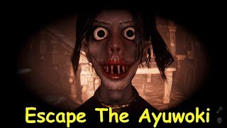 ESCAPE THE AYUWOKI - PART 1 PLAYTHROUGH - FIND THE KEY AND ESCAPE + ROBLOX - THE RAKE