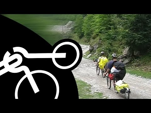 West Balkan by recumbent bikes - Montenegro, Albania, Kosova, Macedonia