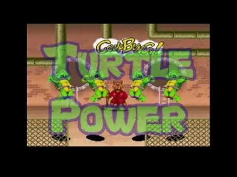 T.U.R.T.L.E. Power - Mega Ran x Klopfenpop (sprite video)