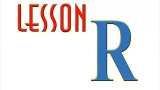 Английский алфавит - Буква R (Уроки тетушки Совы)