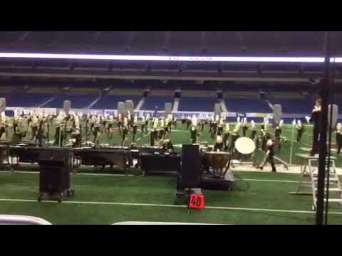 The Colony High School state band performance (Alamodome)