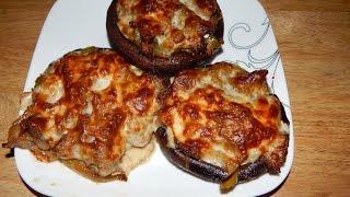 Stuffed Mushrooms Recipe - Philly Cheesesteak Inspired Stuffed Portobello Mushrooms