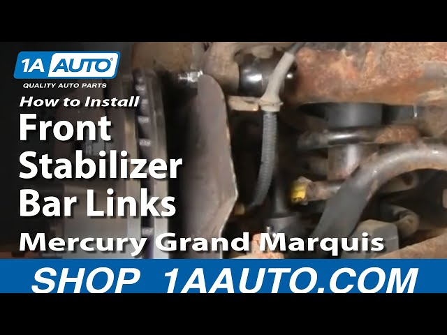 For Ford Crown Victoria Lincoln Mercury Set of 2 Front Sway Bar Links Moog