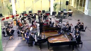 Mozart: Concerto For Two Pianos, K. 365, mvt. 1 (John Young & Felyx Wong)