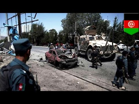 Afghanistan bombing: Taliban attack NATO convoy in Kabul, one dead, more than 20 injured - TomoNews