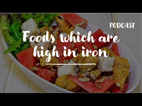 Foods which are high in iron