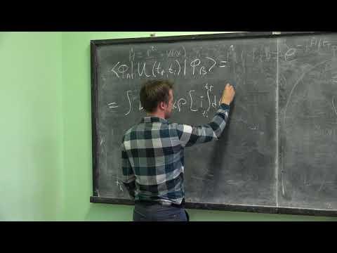 Сатунин П. С. - Квантовая теория поля при конечной температуре и во внешних полях - Лекция 3