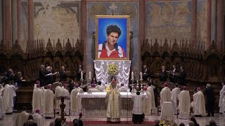 Holy Mass for the Beatification of Carlo Acutis 10 October 2020 HD