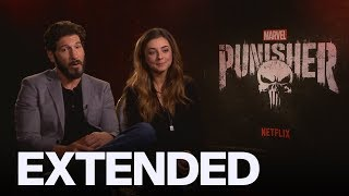 Jon Bernthal, Giorgia Whigham Talk S2 Of 'The Punisher' | EXTENDED