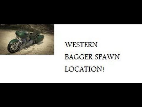 GTA Online: Western bagger spawn location - YouTube