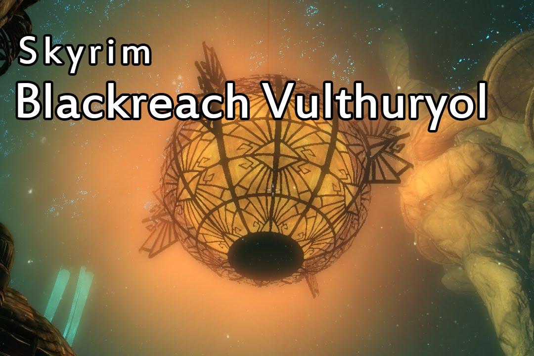 skyrim how to get to blackreach