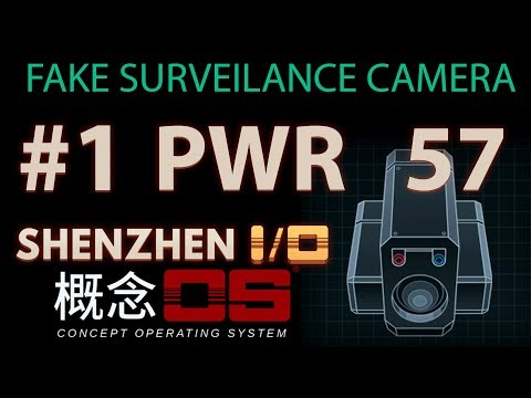 1 Fake Surveilance Camera Lowest POWER 57 (LIG,UND) ShenZhen I/O