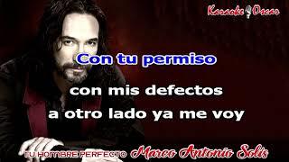 Tu hombre perfecto Marco Antonio Solis Karaoke