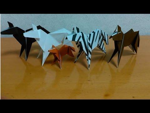 折り紙 馬 how to fold origami horse