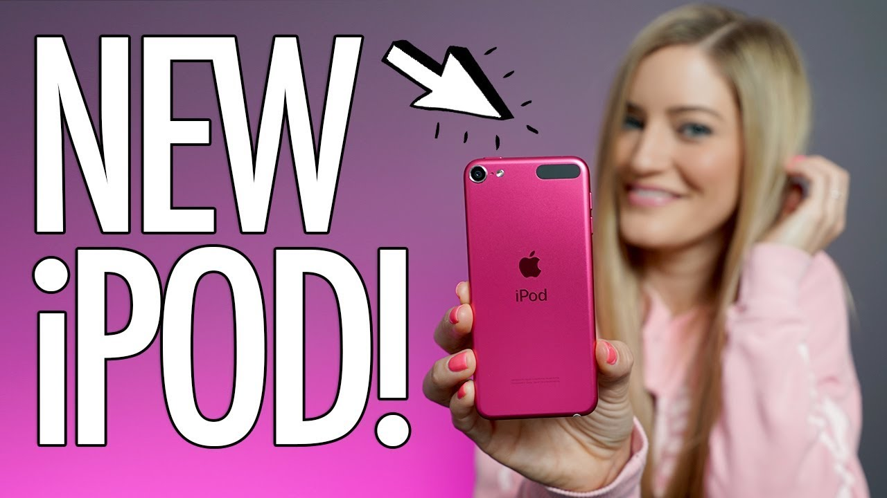 New Pink Ipod Touch 2019 7th Generation Youtube