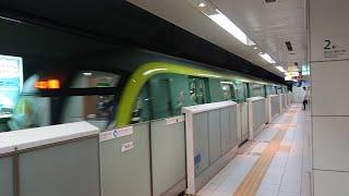 4連休 夜の福岡市地下鉄P2 天神南~薬院駅 Subway  at night