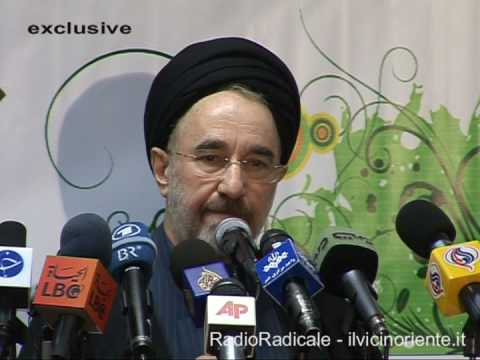 Mohammad Khatami declares his candidacy for presidential election