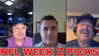 NFL Week 2 Picks and Predictions | Rams vs Colts | Bills vs Dolphins | Saints vs Panthers