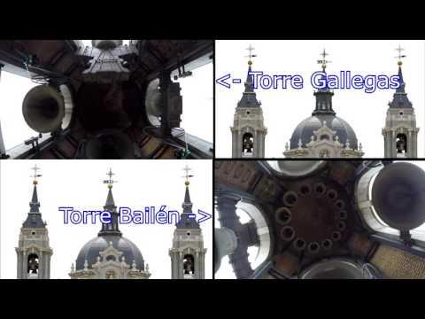 Volteo general campanas Catedral de La Almudena // Versión 1 // Madrid