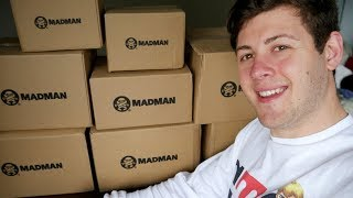 Madman Biggest Unboxing EVER! - 8 Boxes, $1k WORTH! Anime DVD, Blu-ray, Figures and Plushie