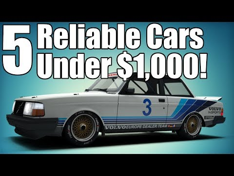 5 Reliable Cars Under $1,000!
