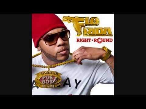 Flo Rida ft Ke$ha - Right Round with Lyrics (NO AUDIO SWAP)