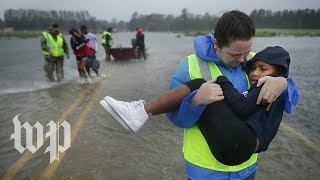 Florence leaves flooding, destruction in its path